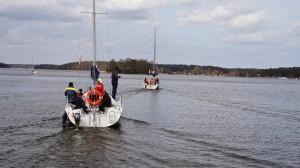 Jachtos po etapo grįžta namo